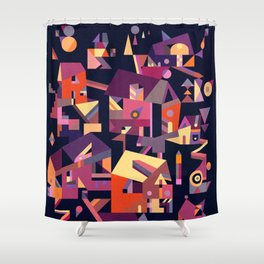 Structura 9 Shower Curtain