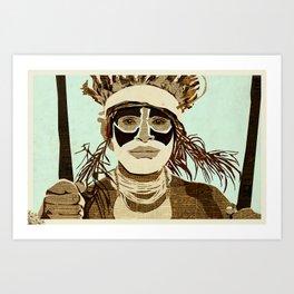 Tribesmen Art Print
