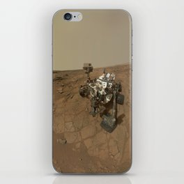 NASA Curiosity Rover's Self Portrait at 'John Klein' Drilling Site in HD iPhone Skin