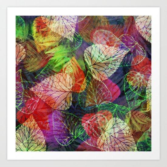 Forest Flora 2 Art Print