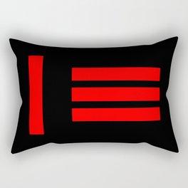 Master Slave BDSM Fetish Pride Flag Rectangular Pillow