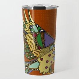 jewel eagle rust Travel Mug