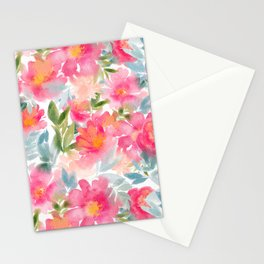 Peony Sunrise Stationery Cards
