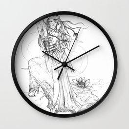 Cancer Goddess Wall Clock