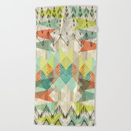 Arrow Dawn Beach Towel