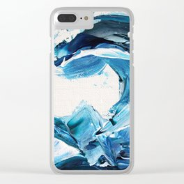 Tempestuous Wave 2 Clear iPhone Case