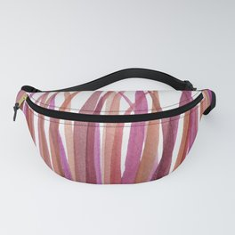 Red Grasses Fanny Pack