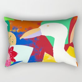Tropical World Rectangular Pillow