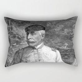Admiral Dewey At Sea Rectangular Pillow
