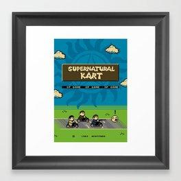 Supernatural Kart Framed Art Print