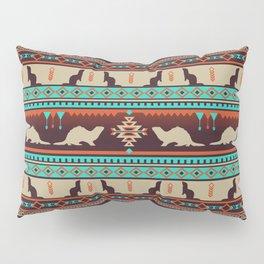 Boho Animals | Ferret sunset Pillow Sham