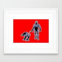 robocop Framed Art Prints featuring Robocop by dutyfreak