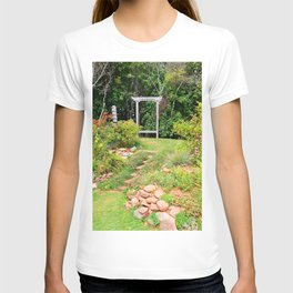 Peaceful Garden Retreat T-shirt