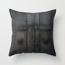 Sanctuary of Secrets Throw Pillow