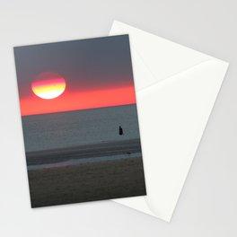Mercury at Sunset Stationery Cards