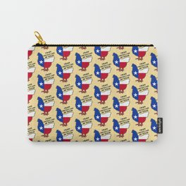 Crazy chiken lady of Texas Carry-All Pouch