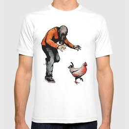 Leroy VS The Zombie Chicken T-shirt