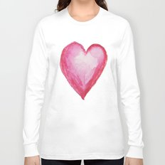 Big heart Long Sleeve T-shirt