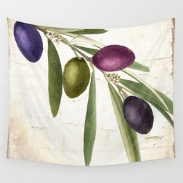 Olive Branch IV Wall Tapestry