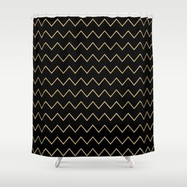 aware of life Shower Curtain