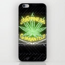 Happiness Guaranteed iPhone Skin