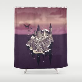 Hogwarts series (year 5: the Order of the Phoenix) Shower Curtain