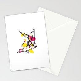 Origami Crane Explosion Stationery Cards