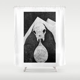 Rock Salt Gazing Shower Curtain