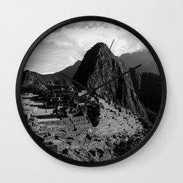 Manchu Picchu 2  Wall Clock