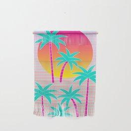 Hello Miami Sunset Wall Hanging