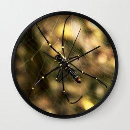 Nephila maculata Wall Clock
