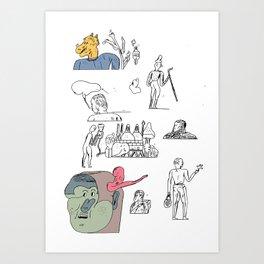 jikjikjik Art Print