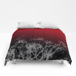Tree Top-Red Comforters