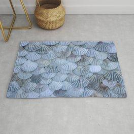 Elegant Seashells Rug