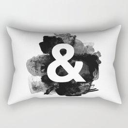 Ampersand Paint Rectangular Pillow