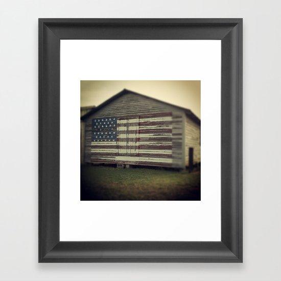Americana Framed Art Print