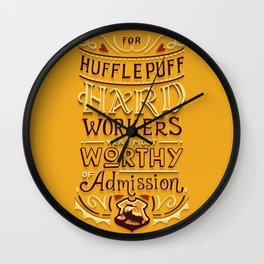 Hard Workers Wall Clock