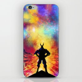 My Hero Academia Inspired Painting   ALL MIGHT iPhone Skin
