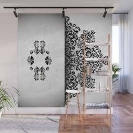 Ornament and grunge texture Wall Mural