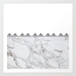 Adoring Grey Art Print
