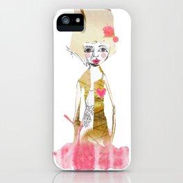 Demure iPhone Case