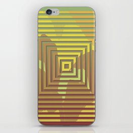 TOPOGRAPHY 2017-018 iPhone Skin