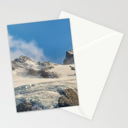 Snowy Andes Mountains, Patagonia - Argentina Stationery Cards