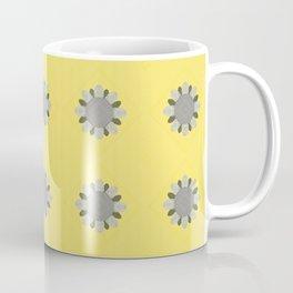 Embroidered Flower Pattern 3 Coffee Mug