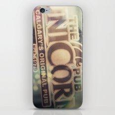 The Unicorn Pub iPhone & iPod Skin