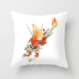 Mad Max Doof Warrior Hug Throw Pillow