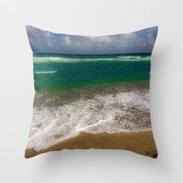 Juno Beach View Throw Pillow