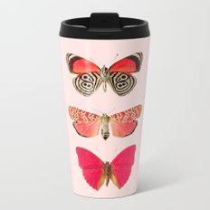Butterflies Decor art Metal Travel Mug