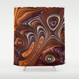 Taffy Shower Curtain