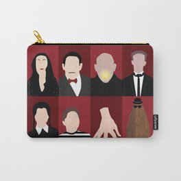 Addams Family Carry-All Pouch